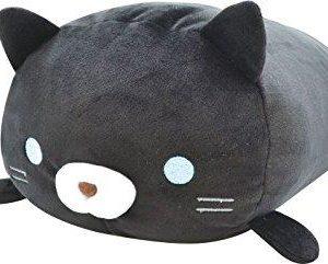 """Fuwa Mochi Plush Cat (18"""") – Kuroki Black"""