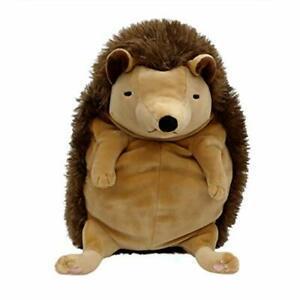 "Mochi Animal Plush (L – 13"") – Brown Hedgehog"
