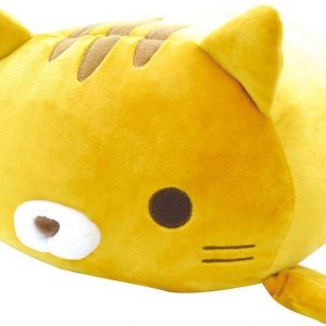 "Fuwa Mochi Plush Cat (18"") – Toramachi Orange-Yellow"